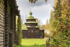 Kostroma Arquitectónico-etnográfico y Museo-reserva Kostromskaya Sloboda del paisaje Iglesia de Elijah Prophet de la parte superi Imágenes de archivo libres de regalías