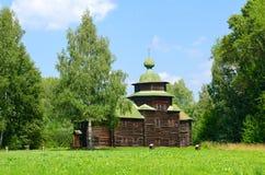 Kostroma Arquitectónico-etnográfico y Museo-reserva del paisaje Imagenes de archivo