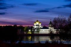 Kostroma city, Ipatievsky monastery Royalty Free Stock Photography