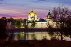 Kostroma city, Ipatievsky monastery Royalty Free Stock Photos