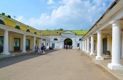 Kostroma handelarcades, Kostroma, Gouden Ring van Rusland Stock Foto