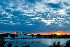 Kostroma. Monasterio de Ipatievsky Imagen de archivo libre de regalías