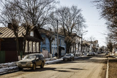 Kostroma street Royalty Free Stock Images