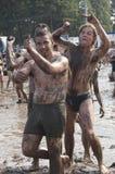 KOSTRZYN, festival di Przystanek Woodstock. fotografia stock