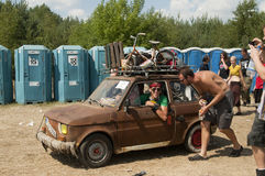 KOSTRZYN, Przystane Woodstock Festival. Stock Photos