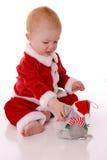 Kostuum 3 van de kerstman royalty-vrije stock afbeelding