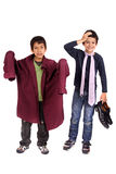 Kostuum Stock Foto's