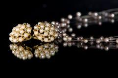 Kostuum Jewelery royalty-vrije stock afbeelding
