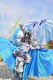 Kostuum met decoratieve ballen Stock Fotografie