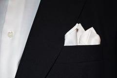 Kostuum met zakdoek Stock Afbeeldingen