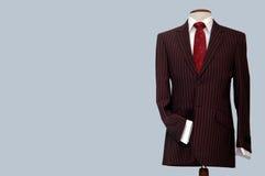 Kostuum op winkelledenpop. Royalty-vrije Stock Foto