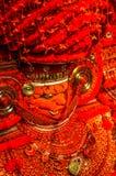 Kostuum van mythologische cijfers in Kerala Stock Fotografie