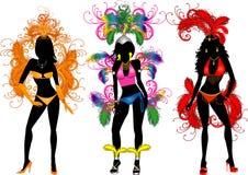 Kostuums 2 van Carnaval Stock Foto's