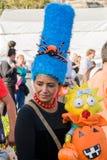 Kostuums voor de Dag van de Doden Stock Foto's