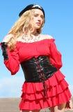 kostymerad kvinnlig Royaltyfria Foton