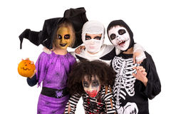 kostymerar halloween ungar Royaltyfri Bild