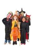 kostymerar halloween ungar Royaltyfri Fotografi