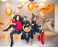 kostymerar halloween ungar Royaltyfria Bilder