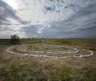 Kostyonki, um labirinto das pedras Imagens de Stock Royalty Free
