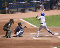 Kosuke Fukadome batting Royalty Free Stock Images