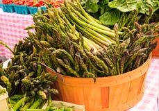 Kosz asparagus Obrazy Stock