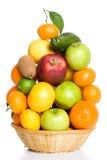 kosz owoc Zdjęcia Stock