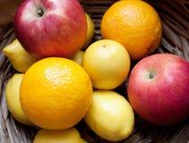 kosz owoc Fotografia Stock