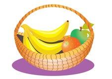 Kosz owoc royalty ilustracja