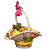 kosz suszący - owoc Zdjęcie Stock