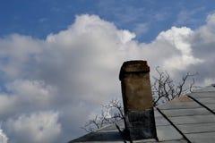 Kosz w chmurach zdjęcie royalty free