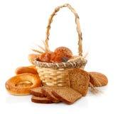 kosza świeży chlebowy kukurydzany zdjęcia royalty free