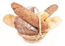 kosza chleb Zdjęcia Stock