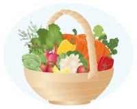 koszałki warzywo Obrazy Royalty Free