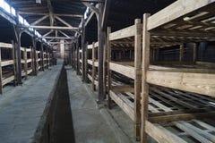 Koszarowy Birkenau obraz royalty free