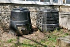 kosze kompostują klingeryt Fotografia Stock