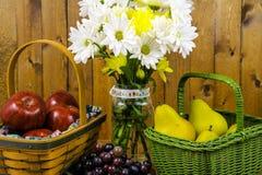 Kosze owoc Zdjęcie Stock
