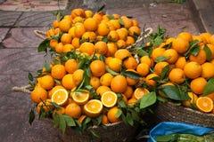 kosze pomarańczowi Zdjęcie Stock