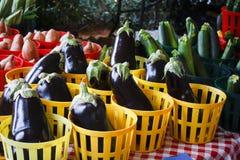 Kosze Veggies Fotografia Stock