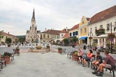 Koszeg, Hongarije Stock Foto's