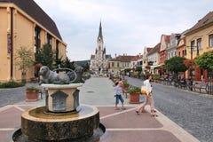 Koszeg, Ungheria Fotografie Stock Libere da Diritti
