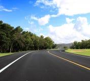koszowa droga Zdjęcie Royalty Free