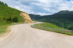 Koszowa halna droga Obrazy Royalty Free