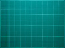 koszowe rżnięte rozcięcia zieleni ziemi maty ziemia jest zielona Zdjęcie Stock