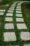 koszowy ogrodowy sposób Obrazy Stock