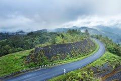 koszowy wzgórza drogi s kształt Obraz Stock