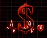 Koszt jawna opieka zdrowotna Zdjęcia Royalty Free