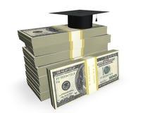 kosztuje edukację Obraz Stock