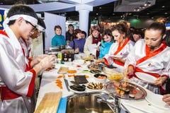 Kosztuje naczynia Orientalna kuchnia Obrazy Royalty Free