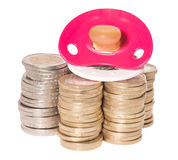 Koszty dla dziecka Zdjęcia Stock