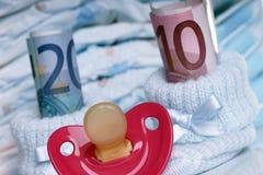 Koszty dla dziecka Fotografia Royalty Free